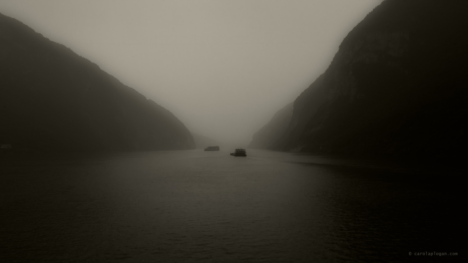 Quietude au bord du Yang-Tsé