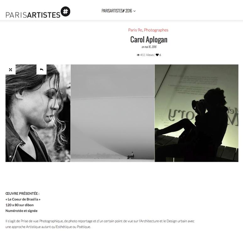 Parisartistes2016_presentation